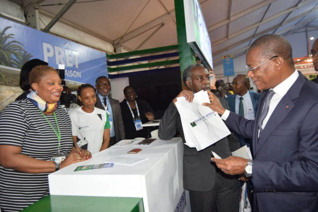 Photo 2 BANK OF AFRICA CÔTE D'IVOIRE au salon ARCHIBAT