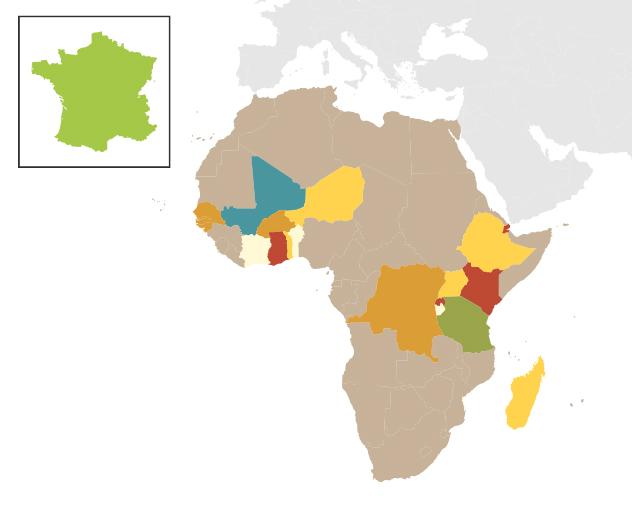boa map africa